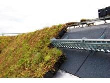 Hydropack på brant tak