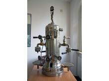 Eine Espresso-Maschine von der Kaffeemaschinenfabrik DORAG Berlin