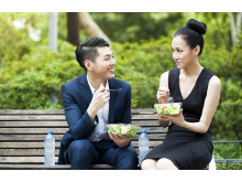 Consumers in Asia are more interested in healthy eating than those in the west, according to research [To download this photo, click on the thumbnail image]