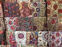 Embroidery in Samarkand, Uzbekistan (on Instagram: gulom_isaev1983)