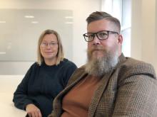 Charlotta Söderberg och Simon Matti
