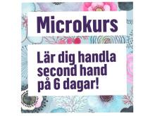 Microkurs second hand