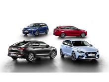 Hyundai i30-familjen.