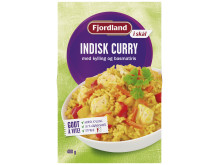 Fjordland i skål Indisk Curry