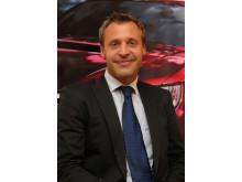 John Hurtig, försäljningsdirektör för Subaru i Sverige