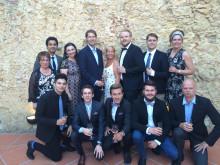 Hele den norske delegasjonen på EM i Lisboa