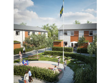 Brf Herrgårdsvägen i Hovås - nya bostadsrätter - radhus