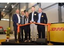 Invigning av DHL Express nya anläggning på Göteborg Landvetter Airport