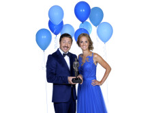 David Sundin och Karin Frick leder Barncancergalan - det svenska humorpriset. Foto: Maria Östlin/Kanal 5