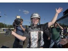 Emilia Leo - en av fyra kandidater till Årets komet på Hästgalan.