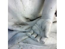 Hagar och Ismaél, skada, fingrar