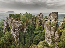 Elbsandstein-fjellområde i Tyskland
