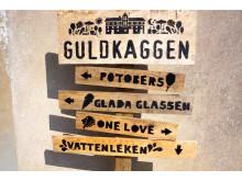 Guldkaggen - skylt 2