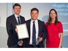 Johan Glennmo receives award for Sigma Technology Group, Sweden's Best Managed Companies