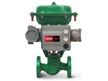 Fisher reglerventil GX med Fieldvue DVC6200 ventil lägesställare