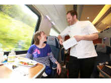 Bryn Williams serves up surprise on board Virgin Trains