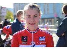 Martine Gjøs under sykkel-VM i Bergen