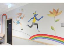 Väggmålning Sanda grund- och gymnasiesärskola 1