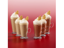 Costa Coffee Gingerbread Latte & Hot Chocolate