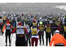 Vasaloppet 2019 starten i Berga by Sälen
