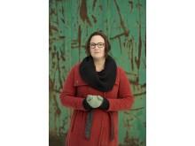 Jessica Schiefauer besöker Stadsbiblioteket