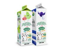 Arla: Kierrätyskamut Luonto+- ja maitotölkeissä