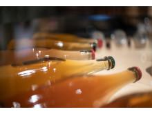 Cider på Spritmuseum - flaskor