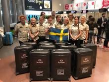 Optiker utan gränser på Arlanda på väg till Peru. Foto: Synoptik