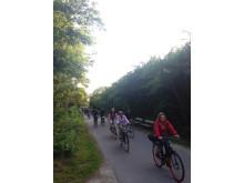 Sommarlund: Författarsafari i Torna Hällestad, cykeltur