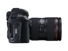 EOS 5D MkIV SIDE LEFT OUTPUT TERMINALS w EF 24-105mm