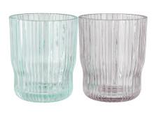 Glass CLAES Ø8xH10cm assorted (20 DKK pr stk)