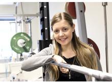 Julia Malmborg, doktorand i hälsa och livsstil