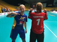 Ida Sundberg gjorde sitt första VM-mål