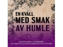 Kulturnatt Stockholm 2016: En kväll med smak av humle på Nordiska museet