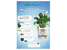 Das LECHUZA Erd-Bewässerungssystem