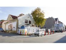 Nybyggnation och förnyelse av Åhmanssonska Villan i Majorna