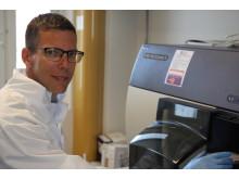 Niklas Hagberg, forskare inom reumatologi, Uppsala universitet