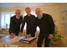 Signering av samarbeidsavtale Statskog, DNT og Norges Fjellstyresamband
