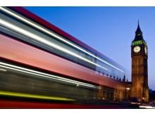 London Big Ben blurred dreamstime