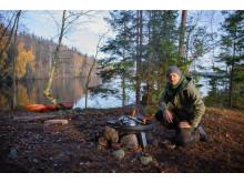 Jacob Holmström i samband med The Edible Country