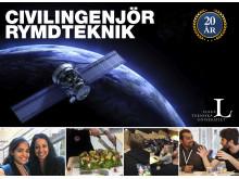 Sveriges enda civilingenjörsutbildning i Rymdteknik firar 20 år