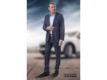 Mika Häkkinen inleder samarbete med Nokian Tyres