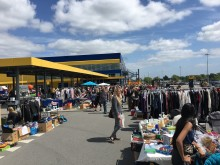 Loppemarked ved IKEA Taastrup 2016
