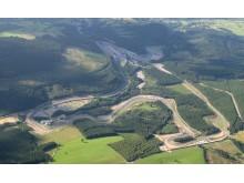 Circuit de Spa-Francorchamps från ovan