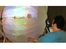 Virtuell cykeltur för demenssjuka