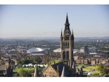 flybe ny rute fra Bergen til Glasgow