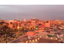 NOMAD Marrakech sunset view_Source NOSADE