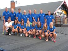 Svenska juniorlandslaget på längdåkning