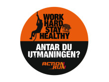 Work Hard Stay Healthy badge