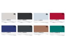 Trend 15 Färgkarta för väggfärg (pastlar för stretched limits)